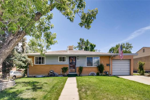 3792 S Hooker Street, Englewood, CO 80110 (#5889251) :: The Griffith Home Team