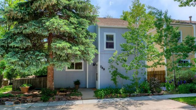 769 Cottage Lane, Boulder, CO 80304 (#5891337) :: The Galo Garrido Group