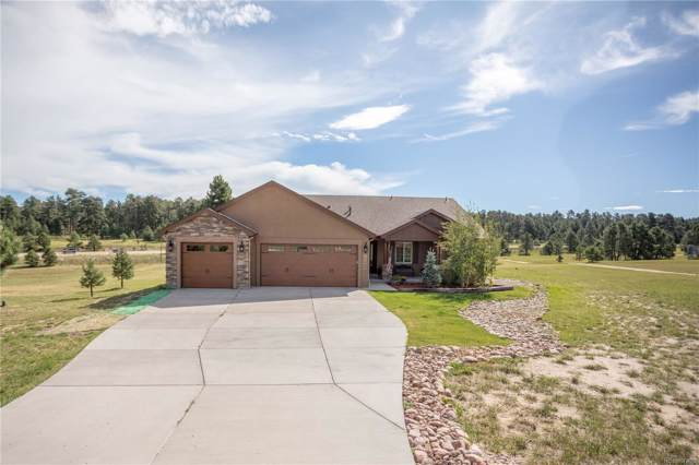 17469 Old Cherokee Trail, Colorado Springs, CO 80921 (#5893000) :: The Dixon Group