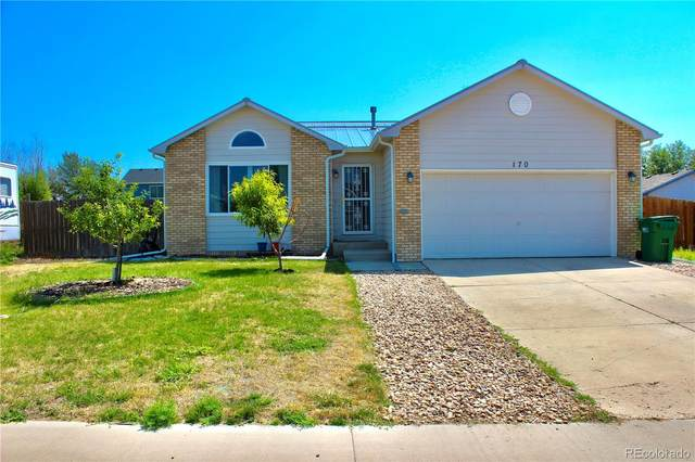 170 S Lambert Street, Keenesburg, CO 80643 (#5894987) :: The Healey Group
