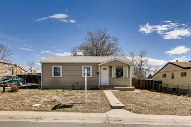 1380 S Meade Street, Denver, CO 80219 (#5898003) :: The Peak Properties Group