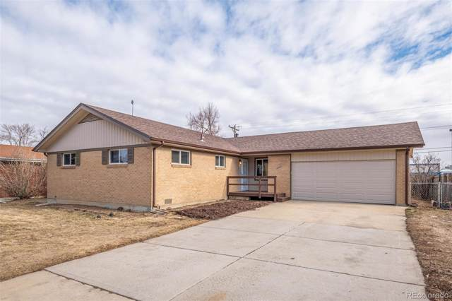 10320 Melody Drive, Northglenn, CO 80260 (#5900262) :: The Harling Team @ Homesmart Realty Group