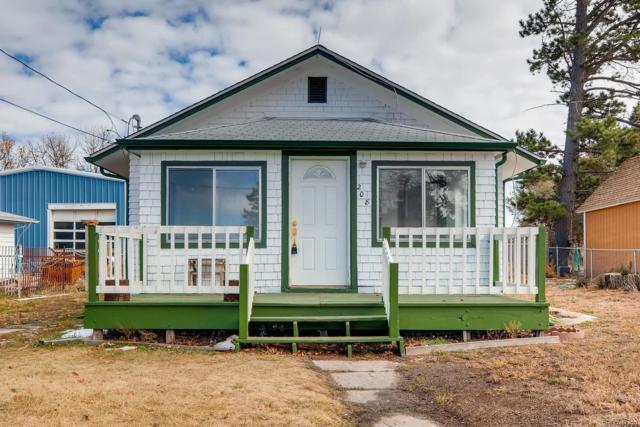 208 Ute Avenue, Kiowa, CO 80117 (#5900416) :: 5281 Exclusive Homes Realty