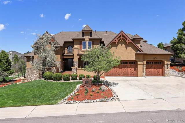 9117 Scenic Pine Drive, Parker, CO 80134 (#5904594) :: The Artisan Group at Keller Williams Premier Realty
