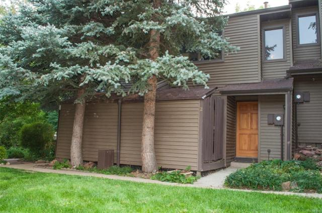 350 Arapahoe Avenue #2, Boulder, CO 80302 (#5906612) :: The Peak Properties Group