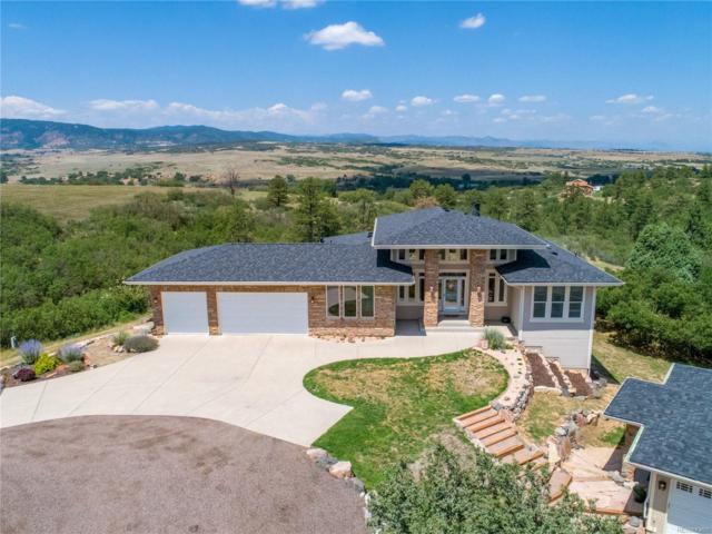 3077 Wolfensberger Road, Sedalia, CO 80135 (#5912387) :: Colorado Home Realty
