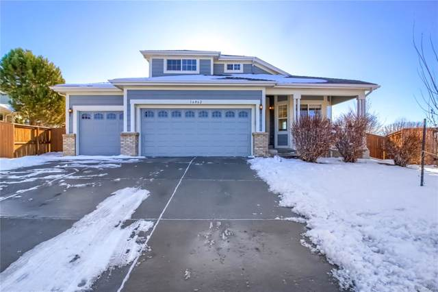 16062 E 105th Court, Commerce City, CO 80022 (#5921198) :: The Peak Properties Group