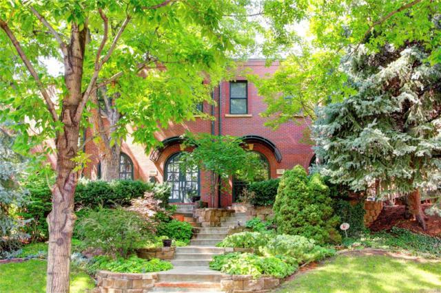 521 Garfield Street, Denver, CO 80206 (#5922221) :: The Peak Properties Group