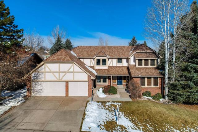 7421 S Fillmore Circle, Centennial, CO 80122 (#5923569) :: The Peak Properties Group
