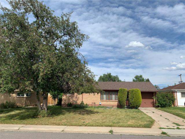 2850 Newport Street, Denver, CO 80207 (#5929453) :: The HomeSmiths Team - Keller Williams
