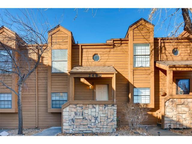 2469 Devonshire Court #34, Denver, CO 80229 (MLS #5938041) :: 8z Real Estate