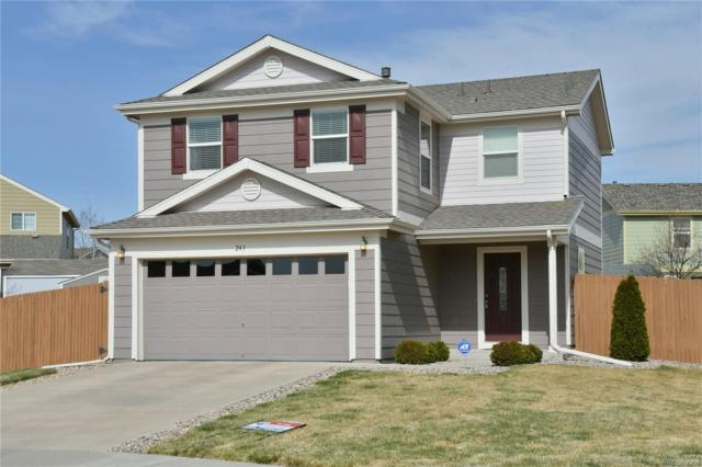 243 Silver Spur Court, Lochbuie, CO 80603 (#5941315) :: The Galo Garrido Group
