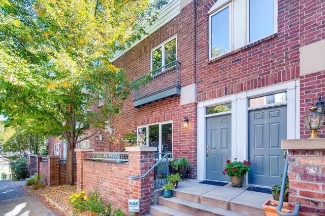 2660 S University Boulevard K, Denver, CO 80210 (MLS #5945588) :: 8z Real Estate