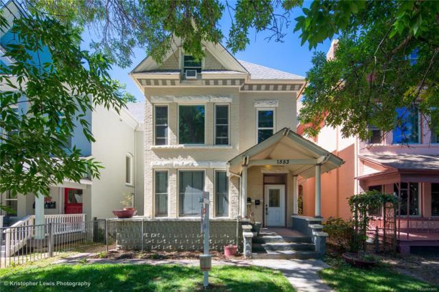 1553 N High Street #101, Denver, CO 80218 (#5946485) :: The Peak Properties Group