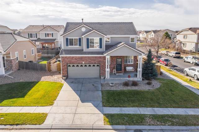 15564 E 99th Avenue, Commerce City, CO 80022 (#5946533) :: The Peak Properties Group