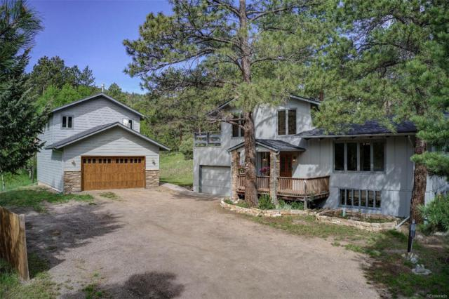 5285 S Hatch Drive, Evergreen, CO 80439 (#5951286) :: The DeGrood Team