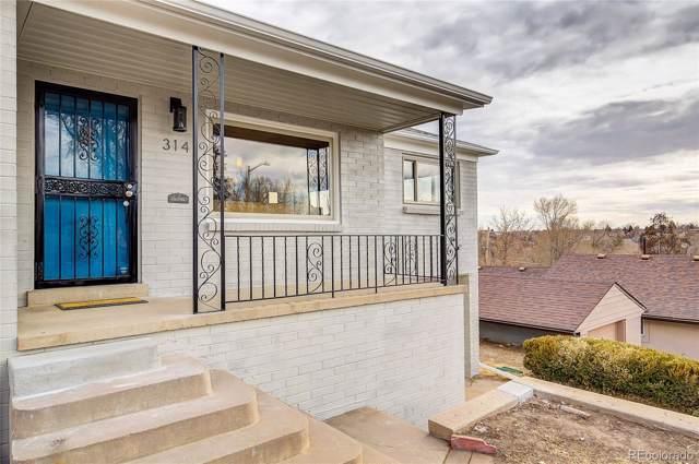 314 Quitman Street, Denver, CO 80219 (#5954596) :: Berkshire Hathaway Elevated Living Real Estate
