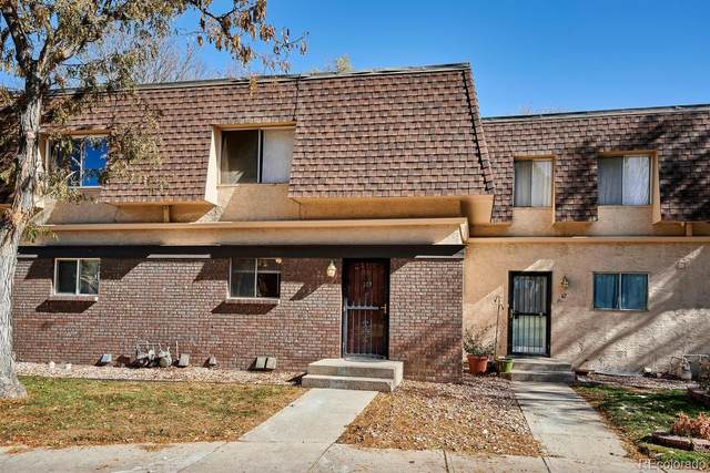 7755 E Quincy Avenue T66, Denver, CO 80237 (#5954929) :: James Crocker Team