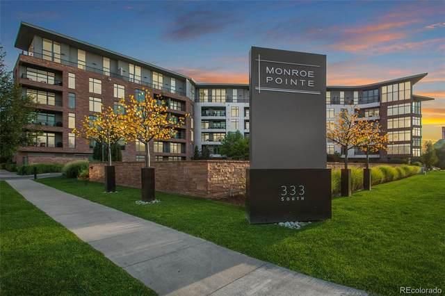 333 S Monroe Street #107, Denver, CO 80209 (MLS #5957922) :: 8z Real Estate