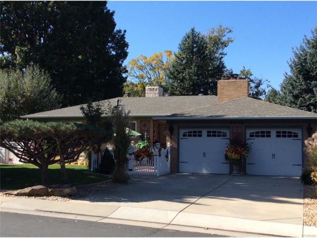 4075 Carr Street, Wheat Ridge, CO 80033 (#5960678) :: The Peak Properties Group