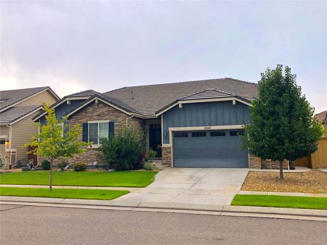 15547 E 115th Place, Commerce City, CO 80022 (#5960944) :: The Healey Group