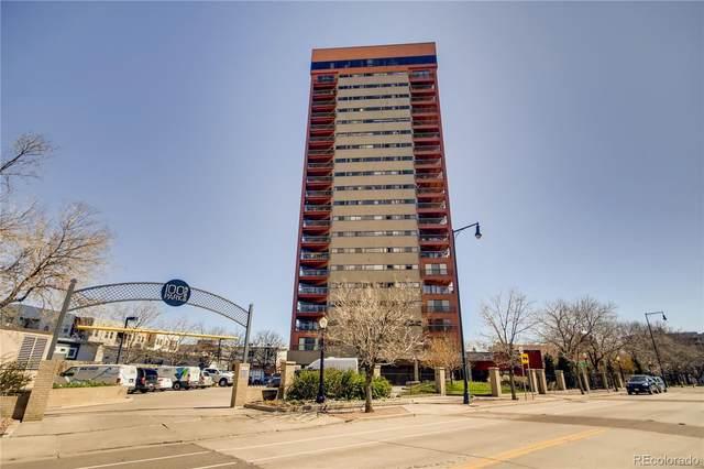 100 Park Avenue #503, Denver, CO 80205 (#5961580) :: James Crocker Team