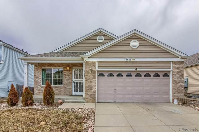 2647 S Halifax Street, Aurora, CO 80013 (MLS #5964409) :: Bliss Realty Group