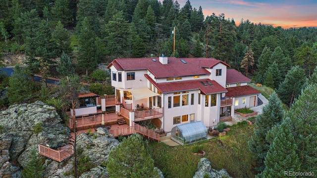 7519 S Frog Hollow Lane, Evergreen, CO 80439 (#5965396) :: The DeGrood Team