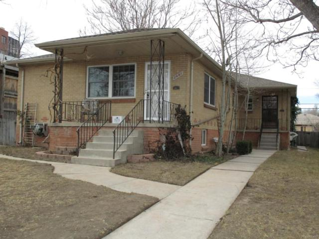 2479-81 S Corona Street, Denver, CO 80210 (#5965750) :: Colorado Team Real Estate