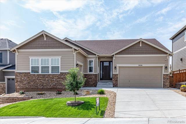 7456 Oasis Drive, Castle Rock, CO 80108 (#5966437) :: You 1st Realty