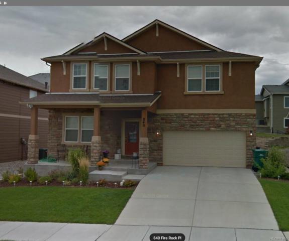 840 Fire Rock Place, Colorado Springs, CO 80921 (#5969193) :: The Galo Garrido Group
