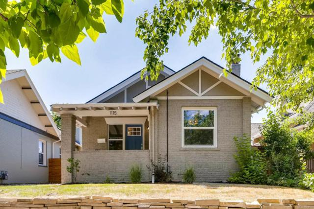 1115 Madison Street, Denver, CO 80206 (#5970054) :: The Pete Cook Home Group
