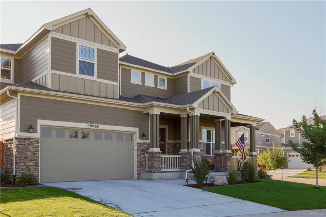 10268 Cosmopolitan Circle, Parker, CO 80134 (#5973262) :: The City and Mountains Group