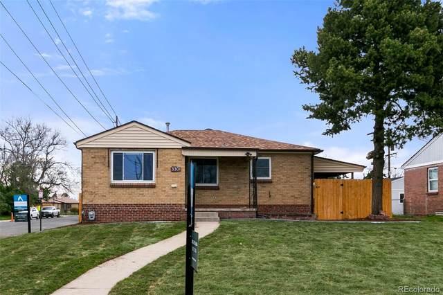 3301 Niagara Street, Denver, CO 80207 (#5973763) :: The HomeSmiths Team - Keller Williams