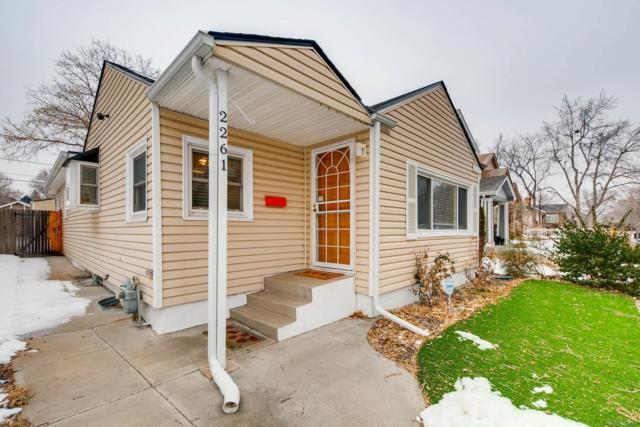 2261 S Marion Street, Denver, CO 80210 (MLS #5976042) :: 8z Real Estate