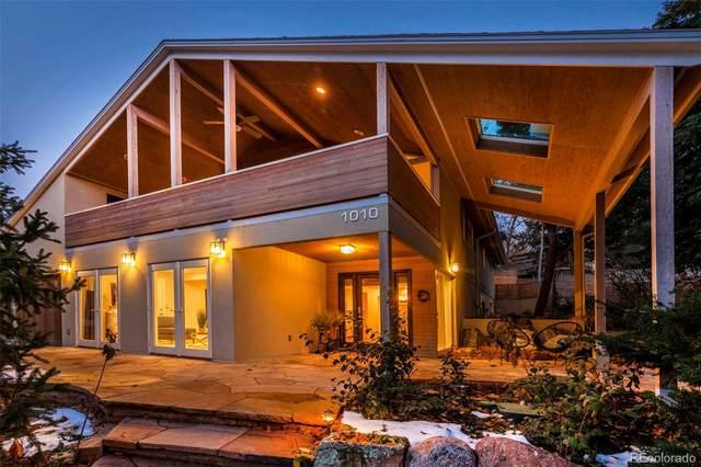 1010 Rosehill Drive, Boulder, CO 80302 (#5978754) :: iHomes Colorado