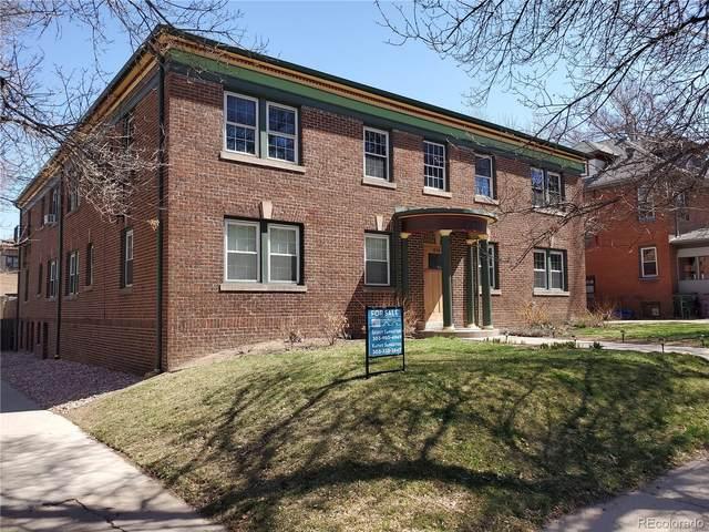 1374 Milwaukee Street #9, Denver, CO 80206 (#5984415) :: Wisdom Real Estate
