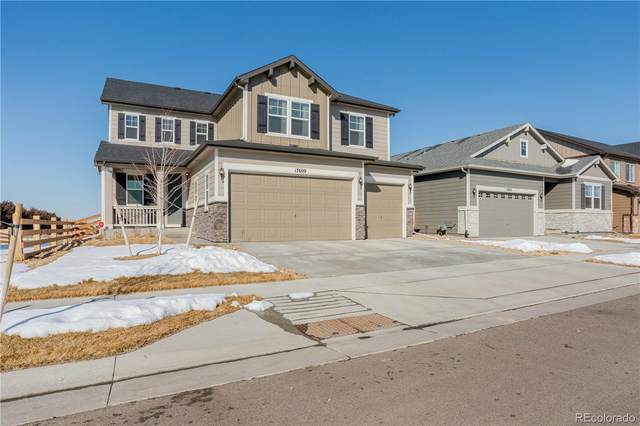 17609 E 111th Place, Commerce City, CO 80022 (#5988732) :: The Peak Properties Group