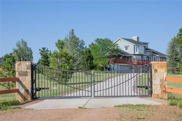 4734 Moonshine Ridge Trail, Parker, CO 80134 (#5991607) :: The Griffith Home Team