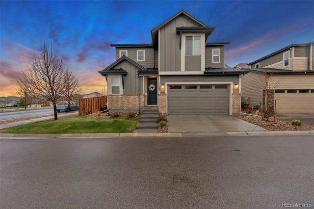 11287 S Neu Towne Circle, Parker, CO 80134 (#5991721) :: The Scott Futa Home Team