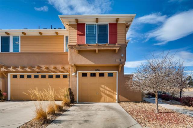 9300 E Florida Avenue #806, Denver, CO 80247 (MLS #5995852) :: 8z Real Estate