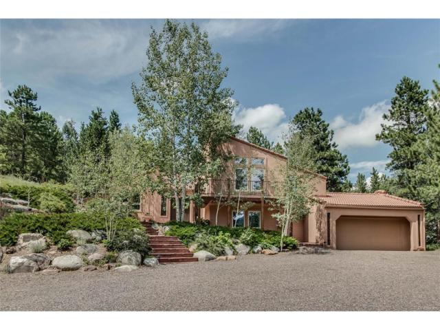 30194 Wild West Trail, Evergreen, CO 80439 (MLS #5995868) :: 8z Real Estate