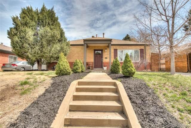 1350 Newport Street, Denver, CO 80220 (#5997539) :: Venterra Real Estate LLC