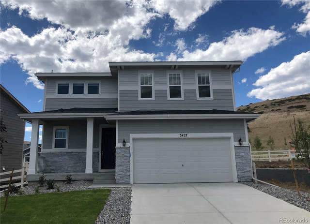 3427 Cade Court, Castle Rock, CO 80104 (#5997758) :: Peak Properties Group