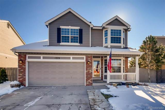 1370 N Tabor Drive, Castle Rock, CO 80104 (#5999021) :: The HomeSmiths Team - Keller Williams
