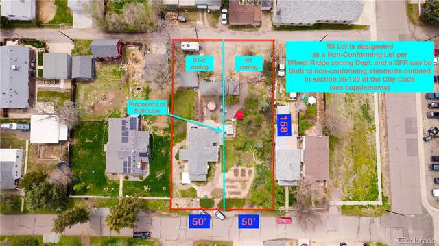 5530 W 27th Avenue, Wheat Ridge, CO 80214 (#6002305) :: The DeGrood Team