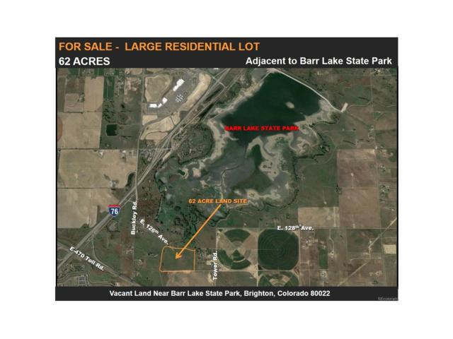 Vacant Land South Of Barr Lake Vacant Land, Brighton, CO 80022 (#6003090) :: The DeGrood Team
