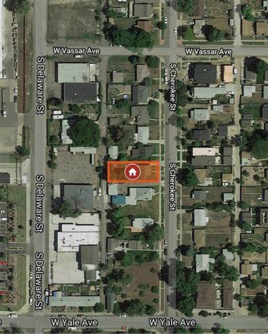 2641 S Cherokee Street, Denver, CO 80223 (#6006034) :: The Griffith Home Team