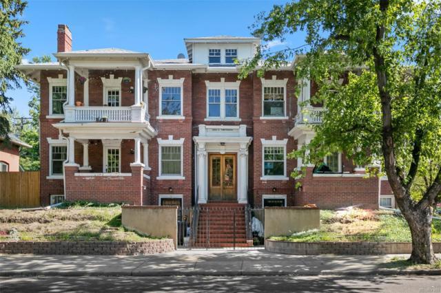 2400 E 13th Avenue #4, Denver, CO 80206 (#6015991) :: Wisdom Real Estate