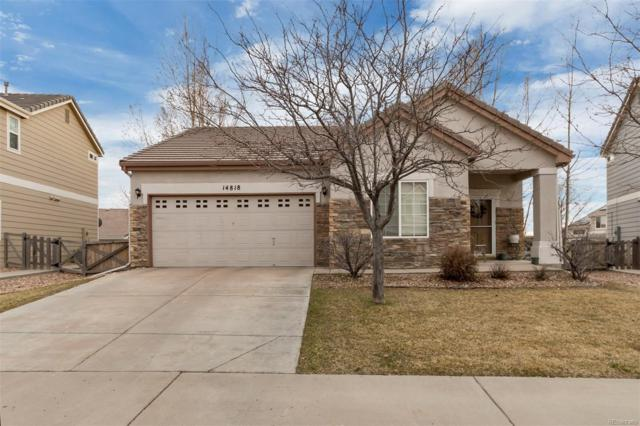 14818 E 118th Place, Commerce City, CO 80603 (#6020965) :: The Peak Properties Group